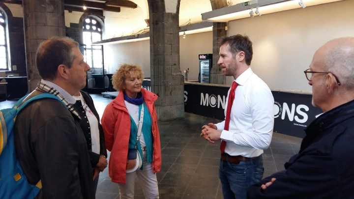Susret sa gradonačelnikom Monsa