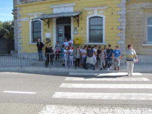 Učenici O.Š. Fran Franković u posjeti Zavičajnom muzeju