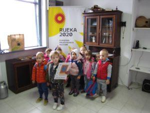 Djeca iz Dječjeg vrtića Viškovo u posjeti našem muzeju